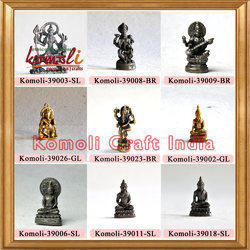 Bronze Miniature Buddha God Statues