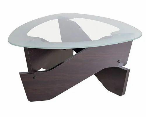 Loop Triang Gl Top Coffee Table D Oak