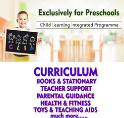 One Stop Solution for Pre School