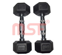 Hex And Round Dumbbell