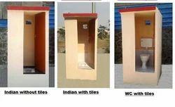 Portable Concrete Toilet Cabins
