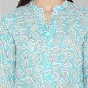 Double Layer Printed Kurtis