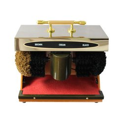 Shoe Polish Machine (Black & Brown)
