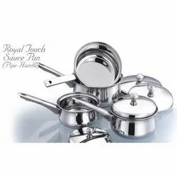 Royal Touch Pipe Handle Sauce Pan Set