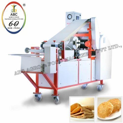 Semi Automatic Chapati Forming Machine