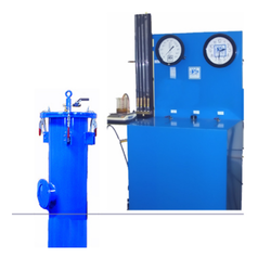 Water Jacketed Type Cylinder Testing Station