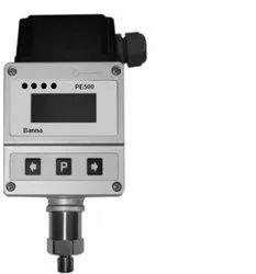 PE100 Series Pressure Sensor with LED Display