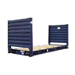 20 Ft Flat Rack Storage Container