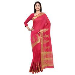 Cotton Saree With Fancy Border