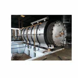 Semi-Automatic Tyre Pyrolysis Plant