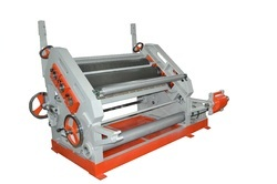 Fingerless Paper Corrugating Machines Oblique Type
