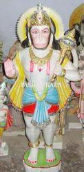 Marble Hanuman Statue Standing
