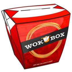 650 ml Square Wok Box