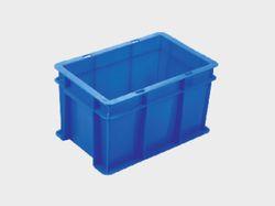 Blue Storage Crates