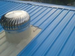 Spherical Wind Turbine Ventilators
