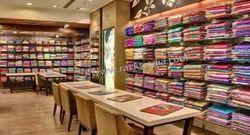 Display Racks For Ethnic Wear Store