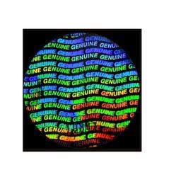 Genuine Hologram Labels Stickers
