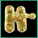 Casement Fastener Tap Head ( Brass)