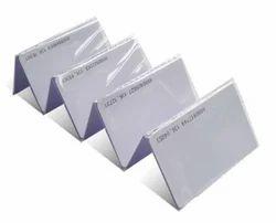 PVC Attendance Card