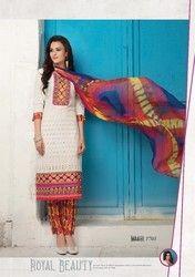 Embroidered Cotton Salwar Kameez