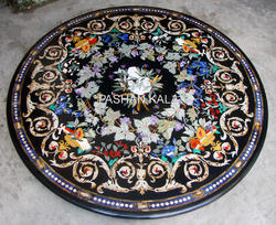 Pietra Dura Marble Inlay Table Top