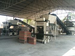 Twin Fly Ash Bricks Making Machines