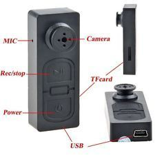 Spy Button Mini Camera