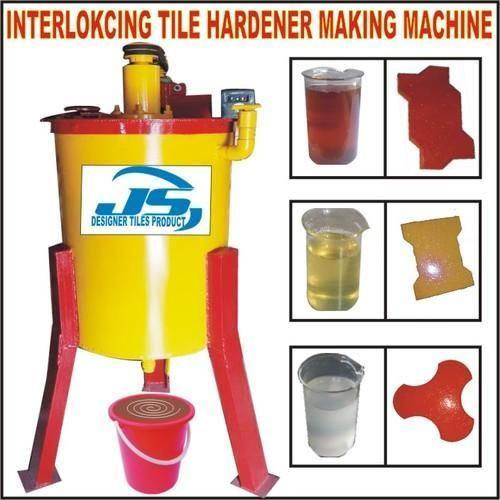 Interlocking Tile Hardener Making Machine