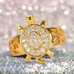 Gold Plated New Meru Ring