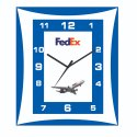 Promotional Rectangular Wall Mounted Clock (Model : 545-548)
