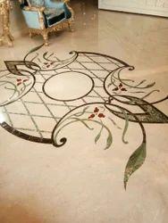 Marble Inlay Flooring Service
