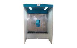 Open Face Industrial Spray Booths