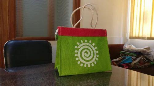 Designer Jute Bags Printed Manufacturer From Ahmedabad