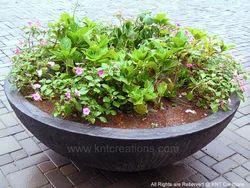 Stone Bowl Planter