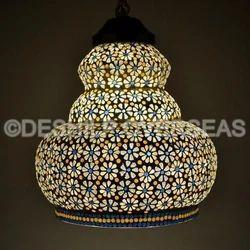Designer Mosaic Hanging Light