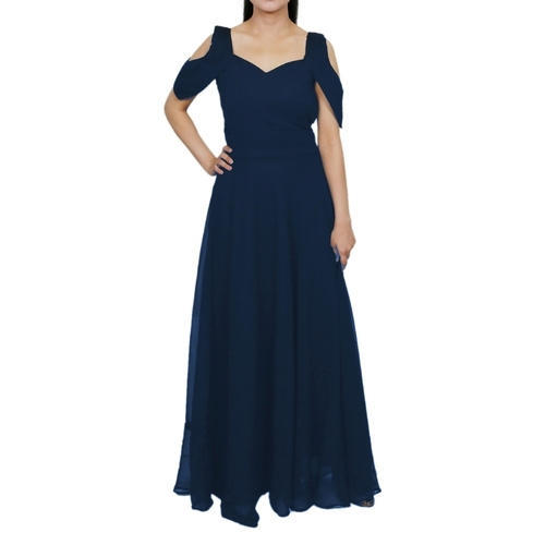 7699bc645b0 Ladies Gowns - Ladies Gown Manufacturer from Delhi