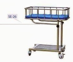 Stainless Steel Crib with Stand
