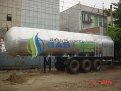 Lorry Mounted CO2 Tankers