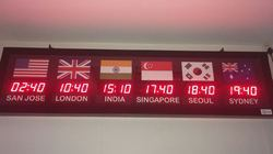 Zone Clocks