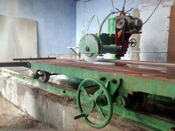 stone edge cutting machine trolly type granite edge cutting