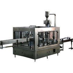 Automatic 20 Liter Jars Rinsing, Filling And Capping Machine