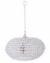 Designer Handmade Glass Lamp Metal And Crystal Chandelier