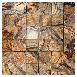 Forest Brown Bidasar Mable Wall cladding Mosaic tile