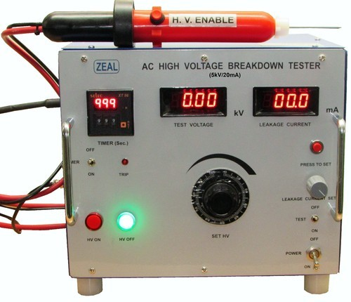 electronics testing equipments ac high voltage breakdown tester rh zealcalibrator com