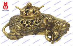 Elephant Dhoop Burner