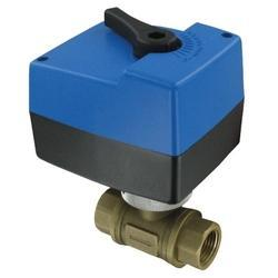 Series HBAV Two-Way Detachable Electric Ball Valve