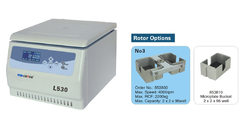 Tabletop Low Speed Centrifuge- L530