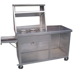 Stainless Steel Chat Counter