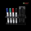 OBASIX Whiteboard Marker & Duster Holder - Black
