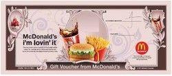 McDonald's - Gift Card/Gift Voucher